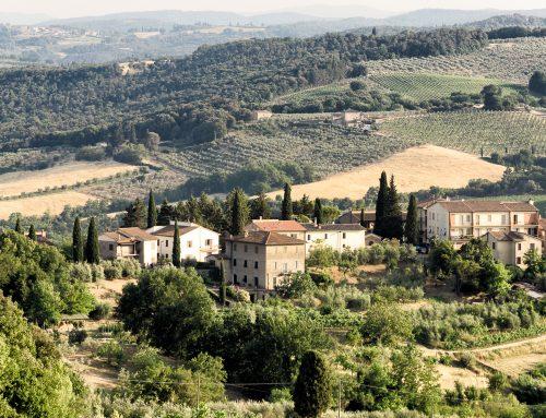 "San Gimignano- the ""Manhattan of Tuscany"""